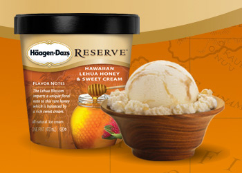 Haagen-Dazs Reserve - Hawaiian Lehua Honey