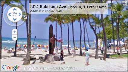 Google Street View in Hawaii
