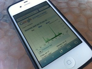 Google Powermeter on iPhone