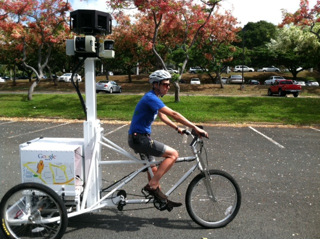 Google Street View Trike | Photo by Burt Lum