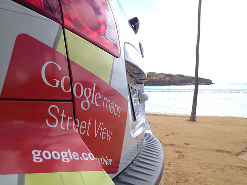 Google at Hanauma Bay