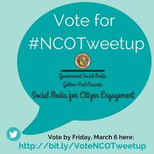 Vote for #NCOTweetup