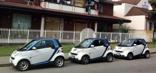 Car2Go Cars - Photo by Richard Eriksson