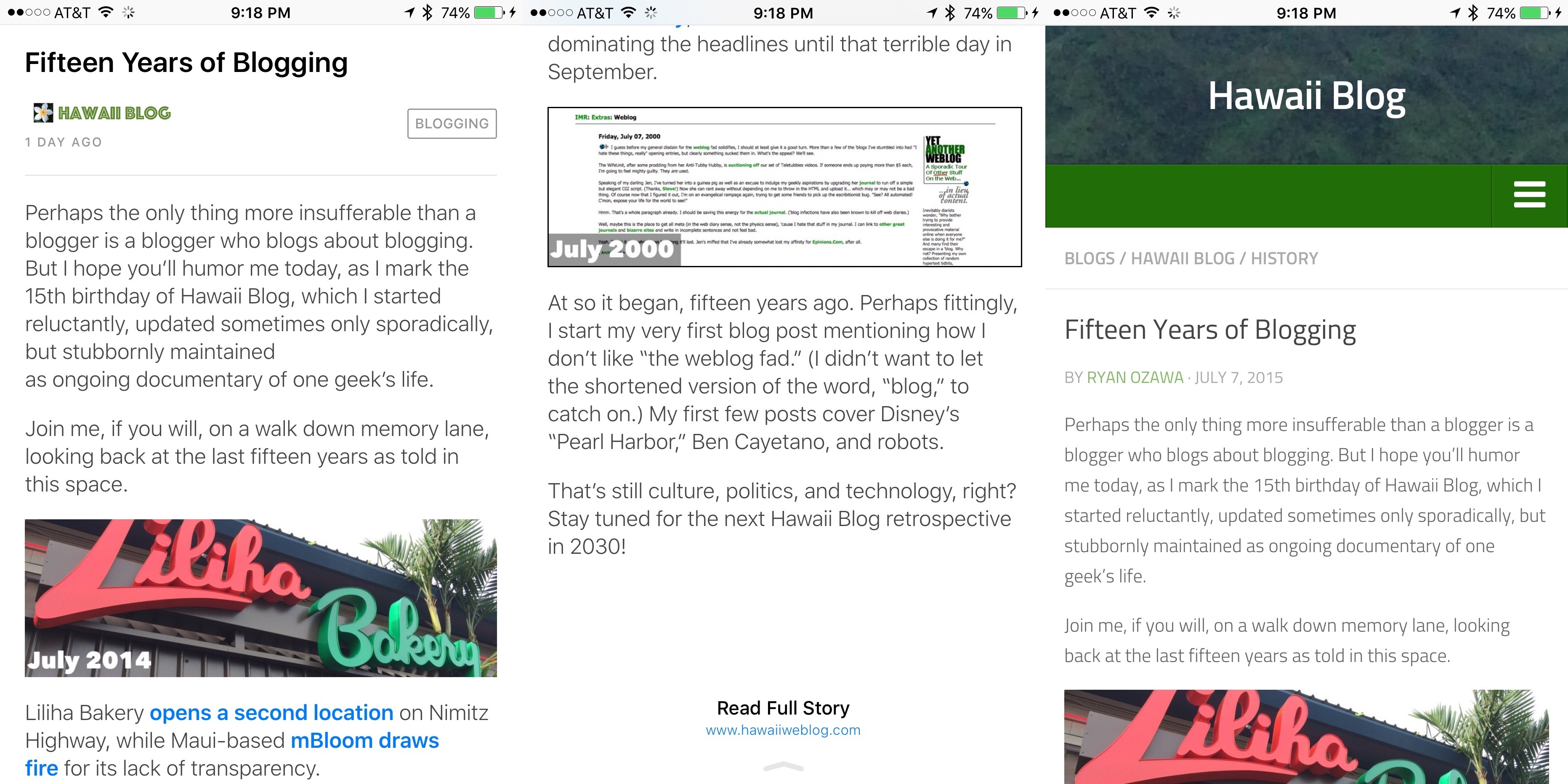 Top And Bottom Blog Posts Of 2015 >> Test Driving Apple S New News App Hawaii Blog