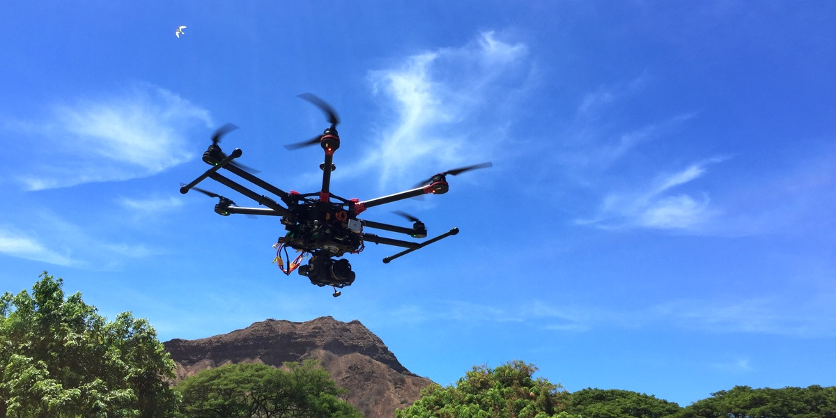 Sweeping california drone law has hawaii roots kauai i hawaii p drone in flight sciox Images