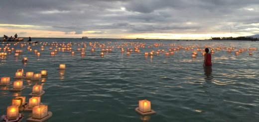 Lantern Floating Hawaii 2015